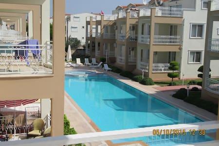 Nice apartment with huge swimmingpool, Didim - Didim - Wohnung