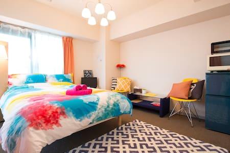 Cozy studio. Best location in Kanazawa #eod - Apartment