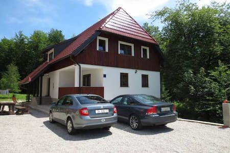 BB in the center of the Plitvice Lakes - Plitvicka jezera