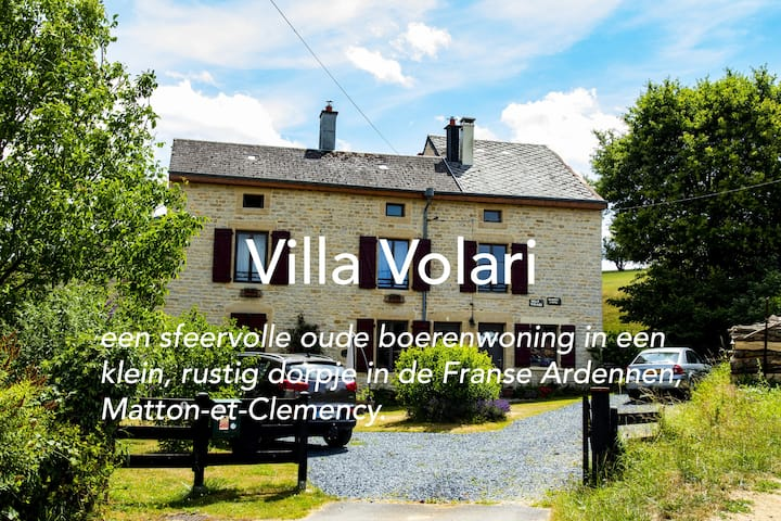 Villa Volari: Rust en ruimte in de Franse Ardennen