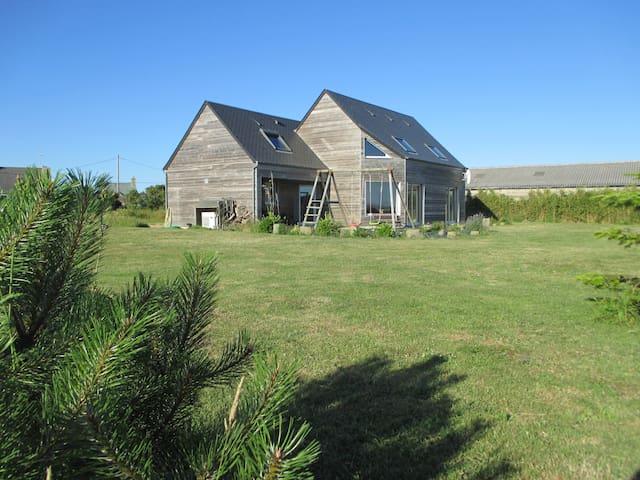 Wooden house in top of Sciotot !