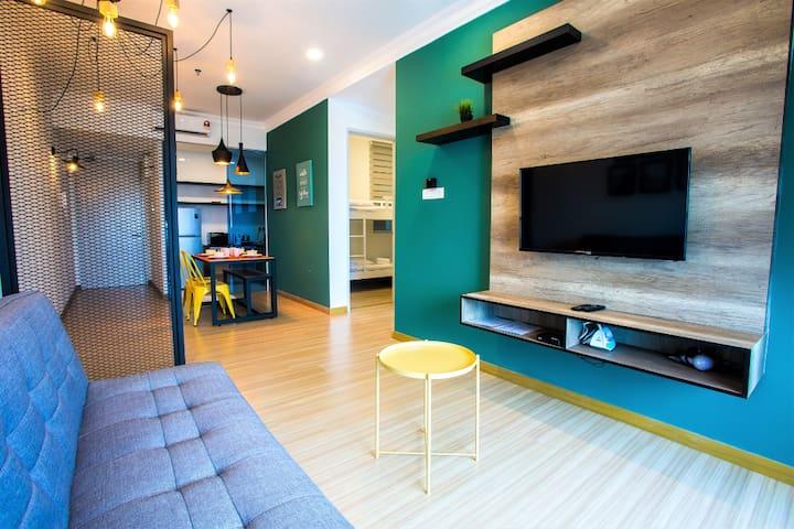 TheWave ♥ Modernistic Design♥ Couple Suite #TW062A