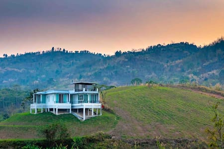 Villa on the top of the hill
