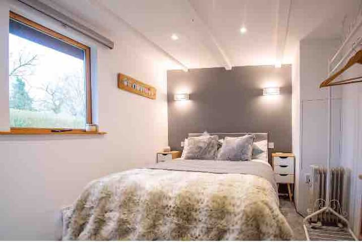 Calming view through the window as you enjoy a relaxing and cosy nights sleep.