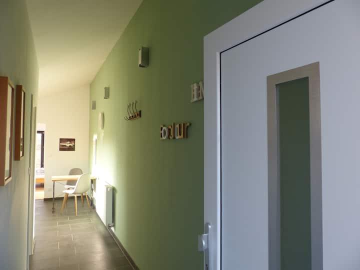 Zentral/naturnah gelegene Wohnung im Dreiländereck