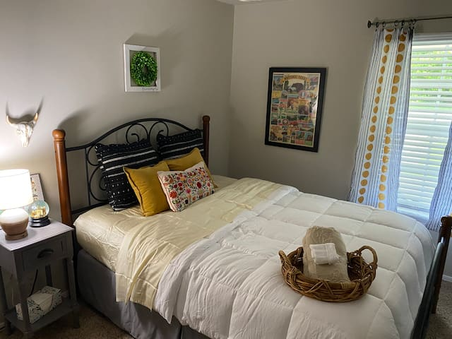 The Okie Guest Bedroom