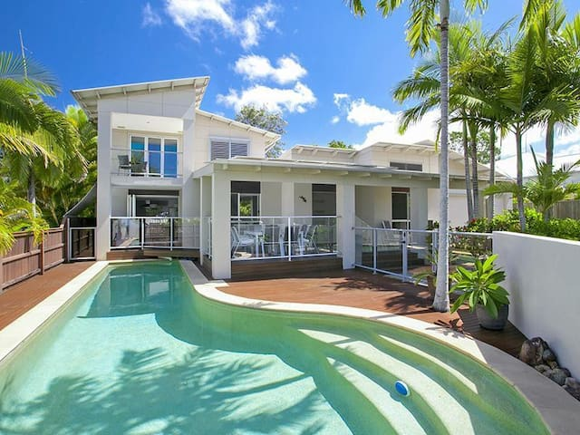Beautiful Family House with Pool - Noosaville - Casa