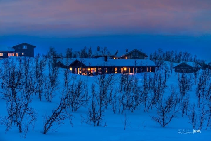 Modern cabin Geilo/Kikut - 9 guests - sentral