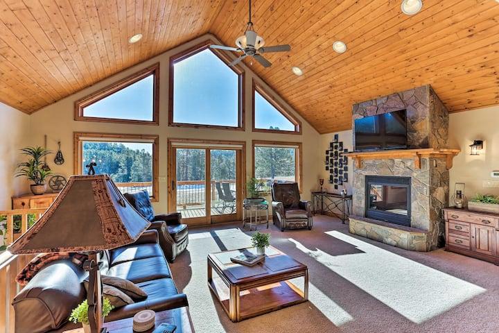 Cabin w/Deck & Fire Pit - 9mi to Mt Rushmore!