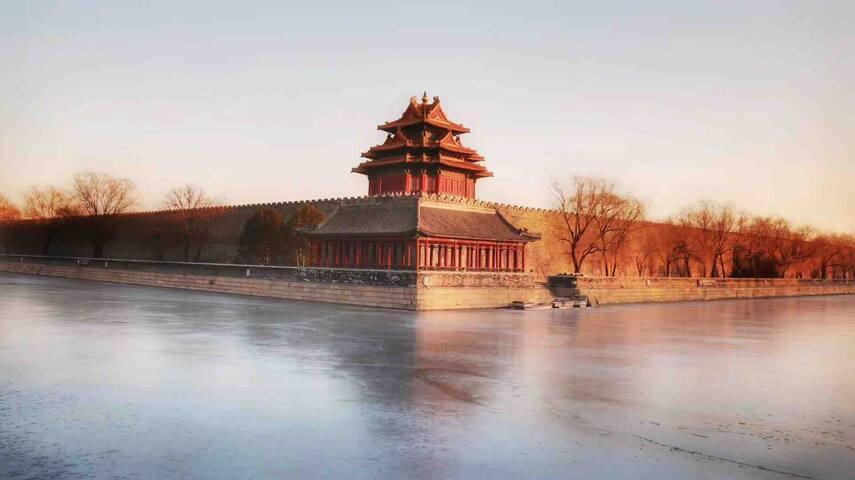 Wuli元气活力复式主卧-带独立花园阳台|15分钟步行天安门王府井|毗邻前门北京站