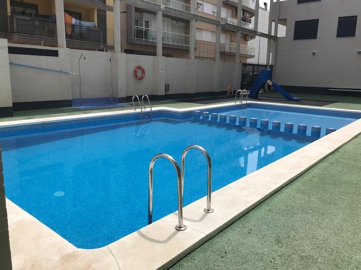 Apartamento en Peñiscola con piscina