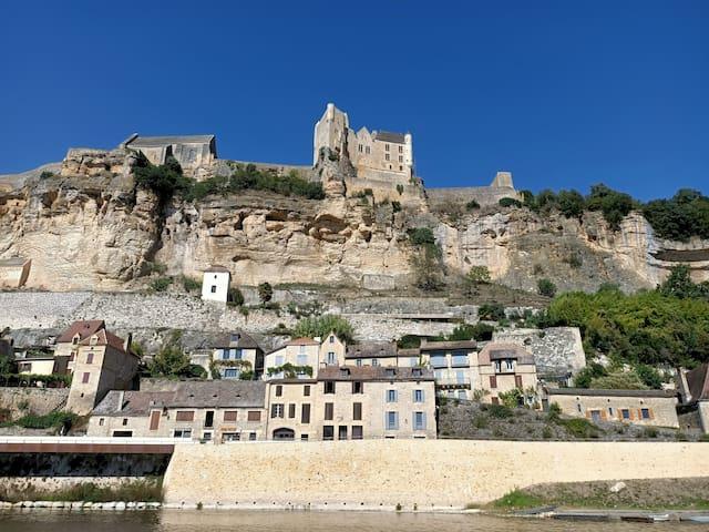 Maison de vacances en Dordogne vue panoramique