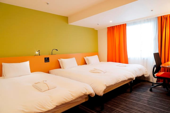 Deluxe Twin Room(for 3 persons) - Non Smoking