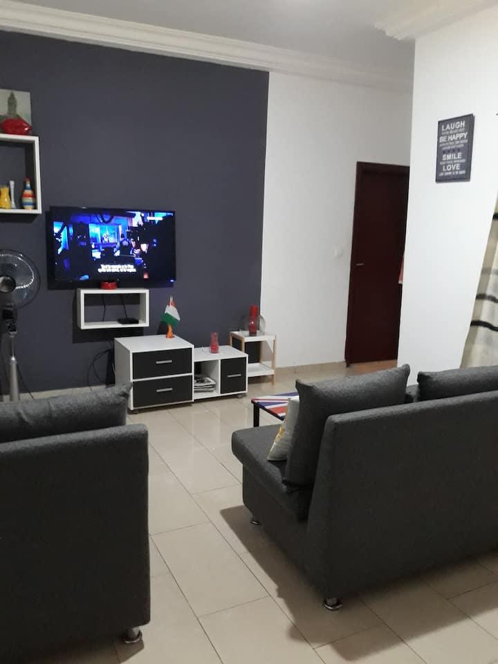 Beau 2 Pièces Meublé à Abidjan