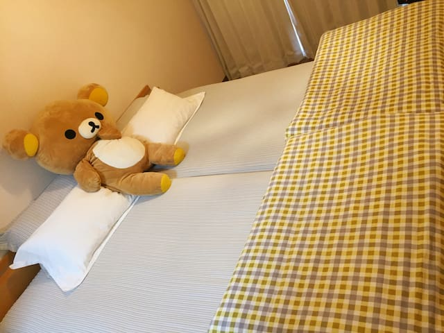 1min from subway (Free Pocket Wifi) - Kyoto - Appartement