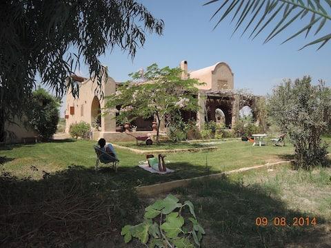 Grande maison près du Lac Qarun  à Tunès