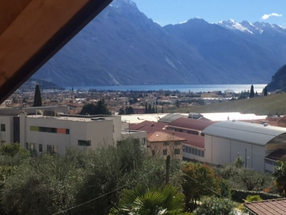 Aussicht vom Appartement / Vista dall´appartamento