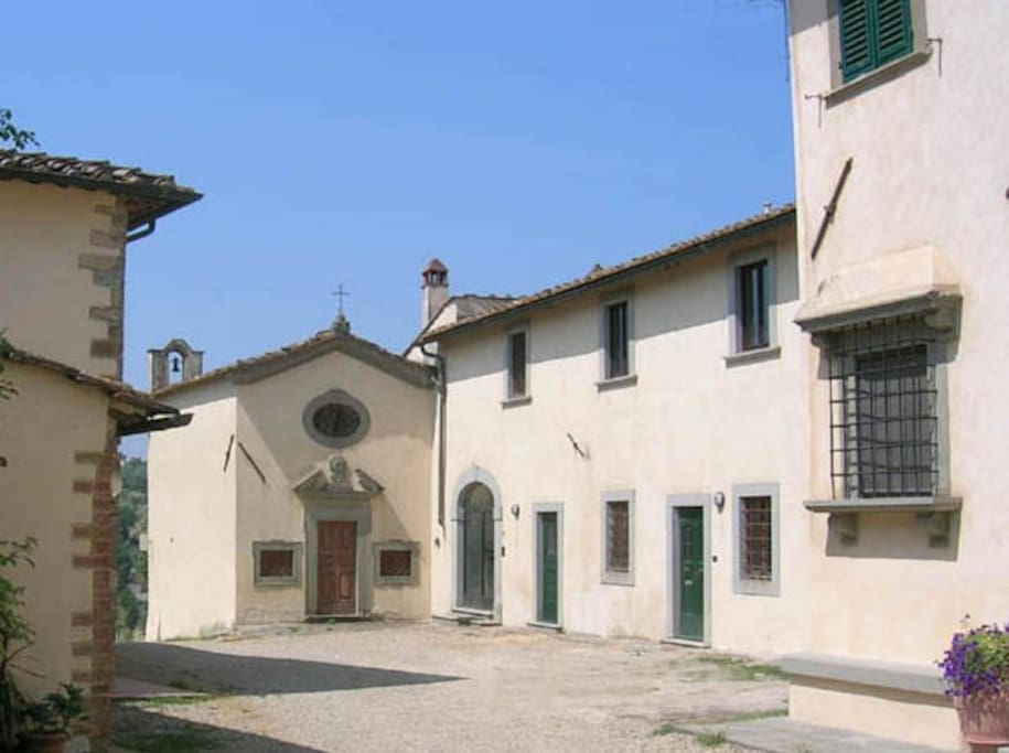 View from the Piazza of Riboia