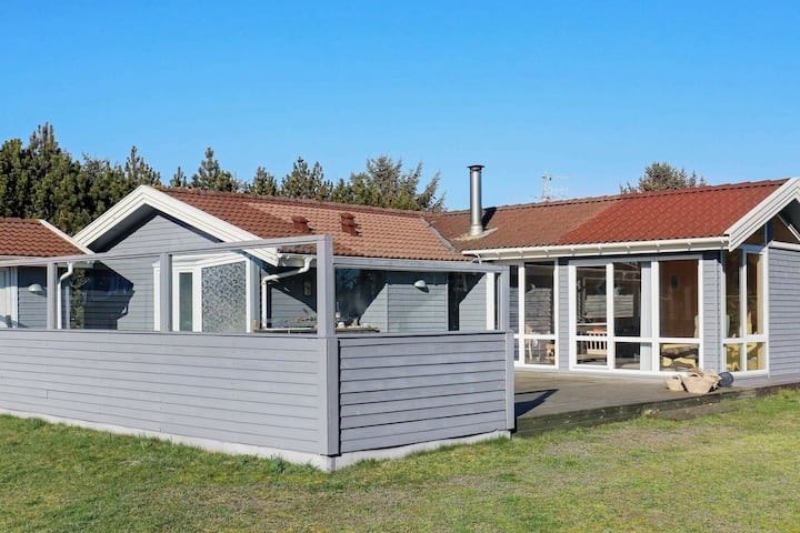 Charming Holiday Home in Lokken Denmark with Sauna
