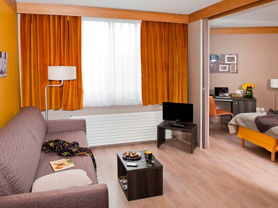 Appartment calme porte de versailles paris xv for Appart hotel 15eme