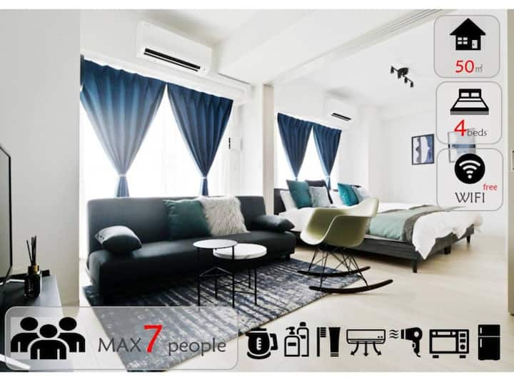 A2712/Best location for trip/family/Ninja room/801