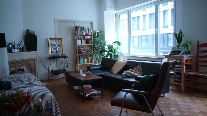 Room in a bright apartment in the heart ofBrussels