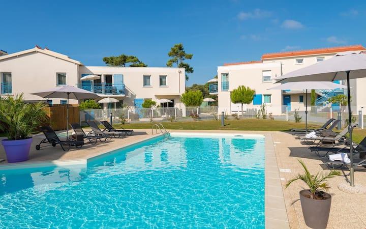 Vacances en bord de mer | Appartement cosy à Saint-Palais-sur-Mer