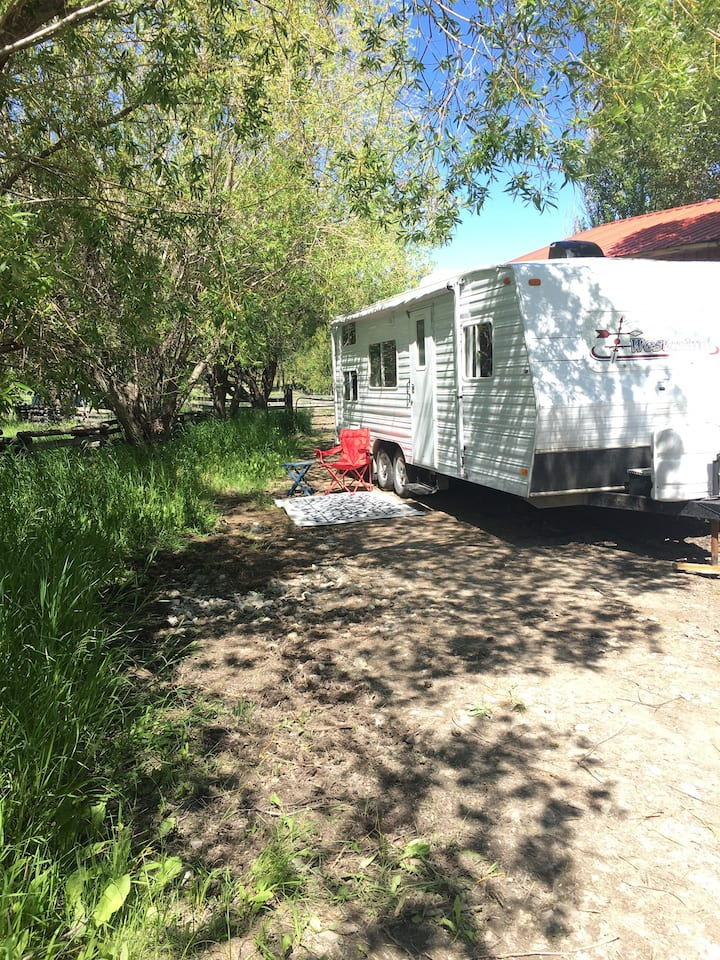 Camping on Hopeful Farm