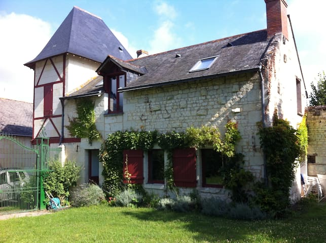 Nice house in the Loire Valley - Le Coudray-Macouard - Hus