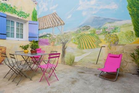 charmante maison de village - Saint-Marcel-de-Careiret