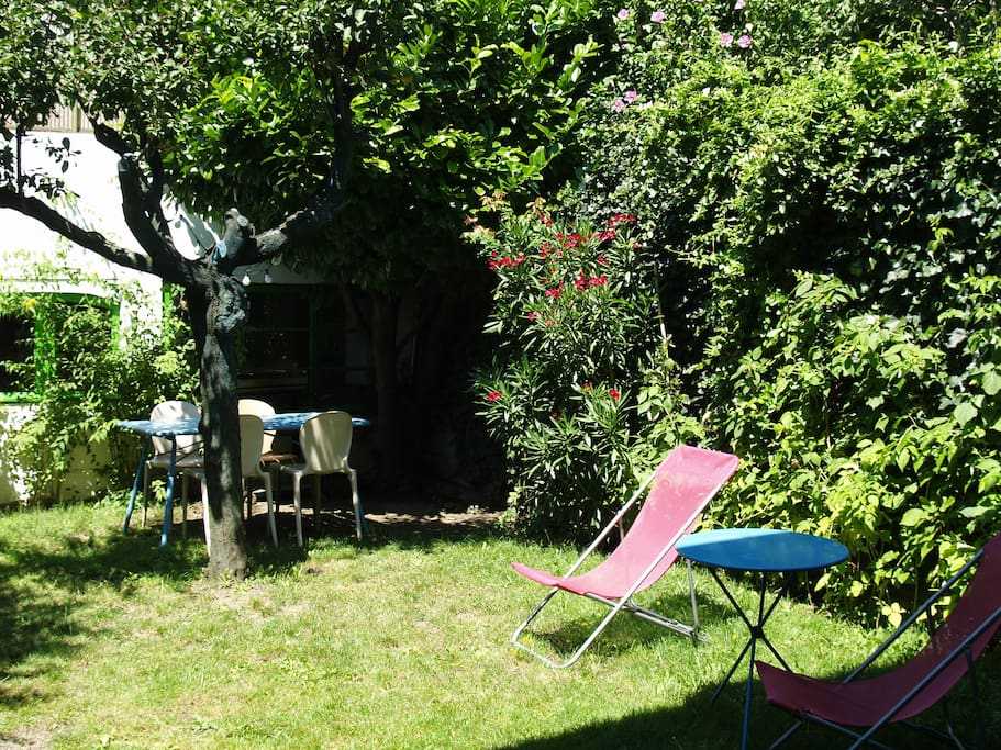 Jardin sans vis à vis