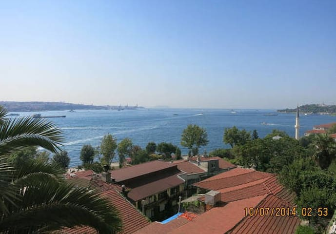 Bosphorus overlooking, spacious apt - Istanbul - Apartment