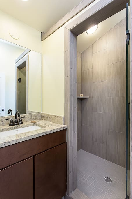 Luxury Bath, Large Modern Shower, Granite Counters, All New Fixtures