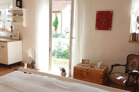 Schönes 1 Zimmer - Apartment mit Terrasse - Burgpreppach - Apartmen