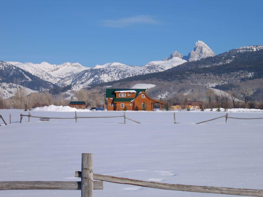 Grand Targhee Ski & Summer Resort just 10 miles up the road.
