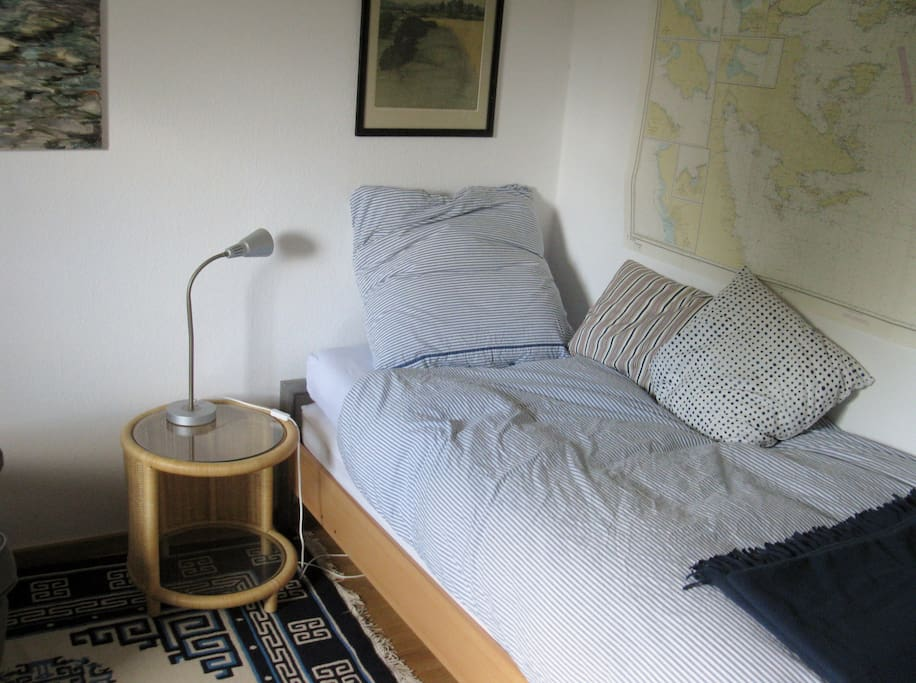 bequemes Einzelbett