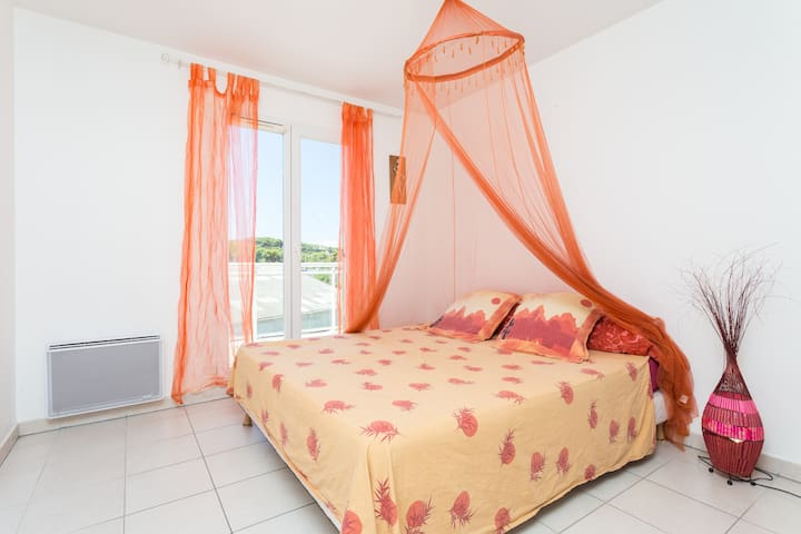 Antibes Apt 6 personnes 3 chambres