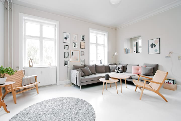 9 rooms villa apartment w/ terrace - Copenhague - Villa