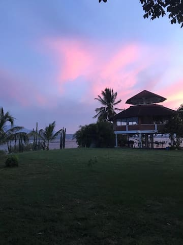 La Solanera paradise island in Betania Damn Huila