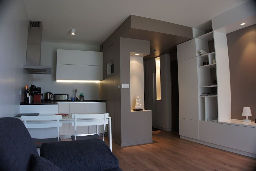 magnificent 2 rooms anglet ocean flats for rent in anglet aquitaine france. Black Bedroom Furniture Sets. Home Design Ideas