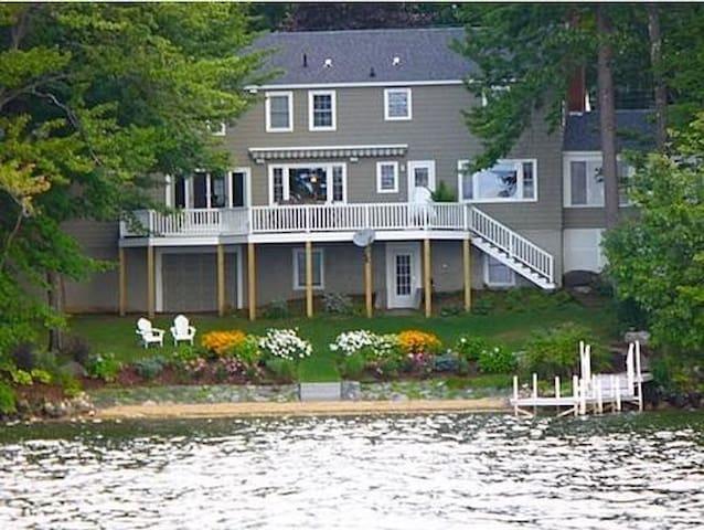 Beautiful Home+Private Sandy Beach - Laconia - Casa