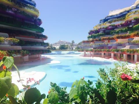 Waterfront Design 2BD Boas Ibiza