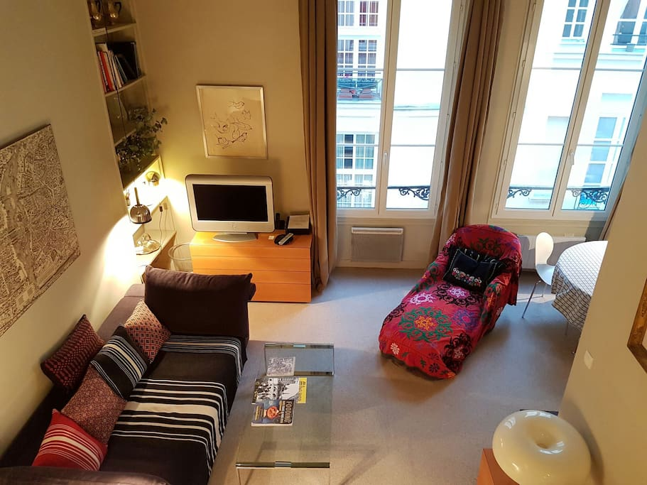 Nid au coeur de l 39 ile saint louis appartements louer - Nid rouge lincroyable appartement paris ...