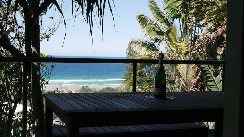Spectacular ocean views, self contained unit