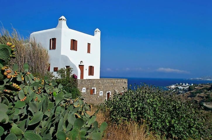 3 bedroom villa near Mykonos Town, facing the sea - Mikonos - Villa