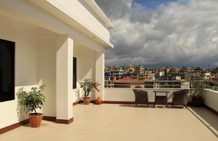 Boudha Residency 3: 1 Bedroom roof top apartment