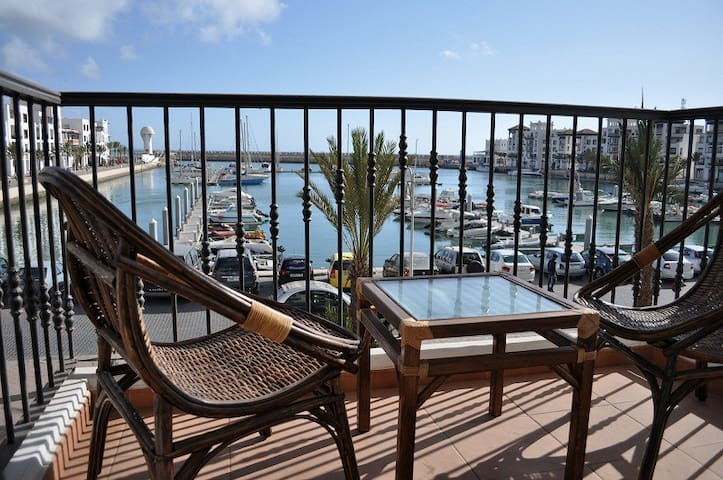 Apartment first line marina view - Agadir - Wohnung
