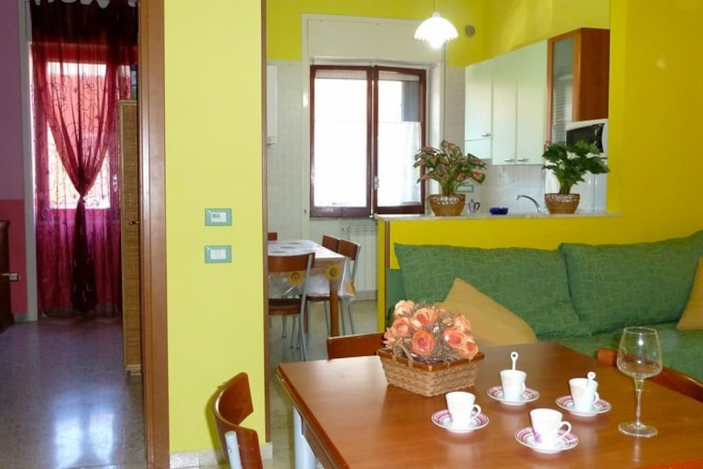 Flat near pompei amalfi sorrento apartments for rent for Apartments amalfi