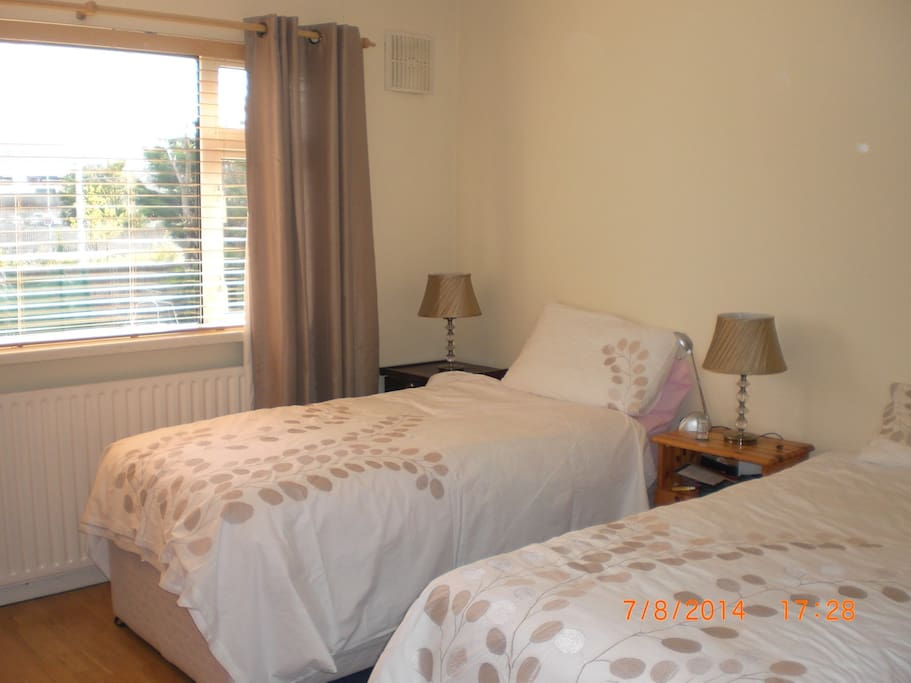 twin or double bedded room
