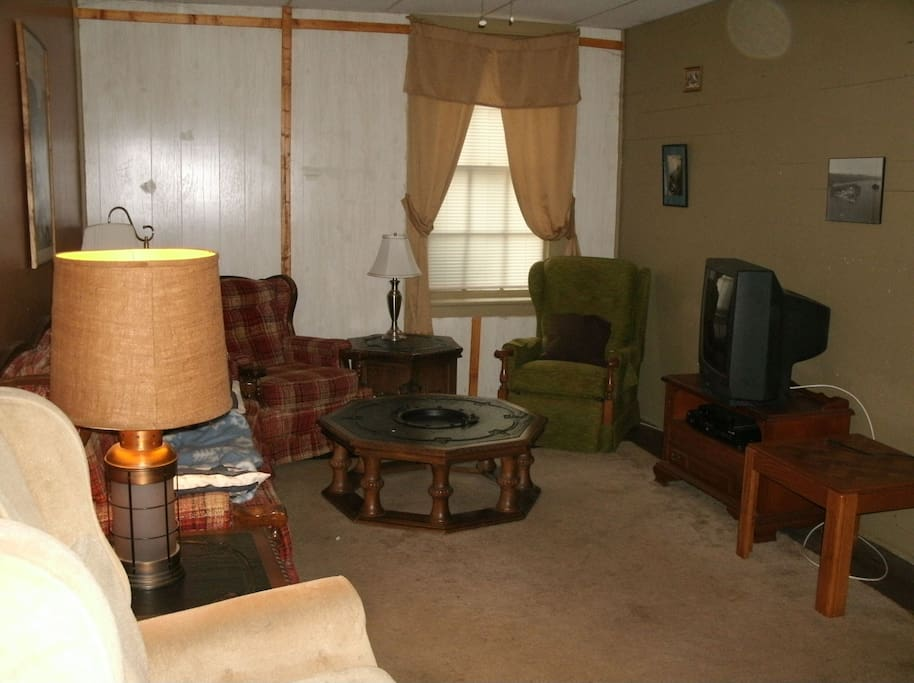 Downstairs Apartment - Living Room